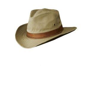 Men's Twill Outback Hat Unisex Hat